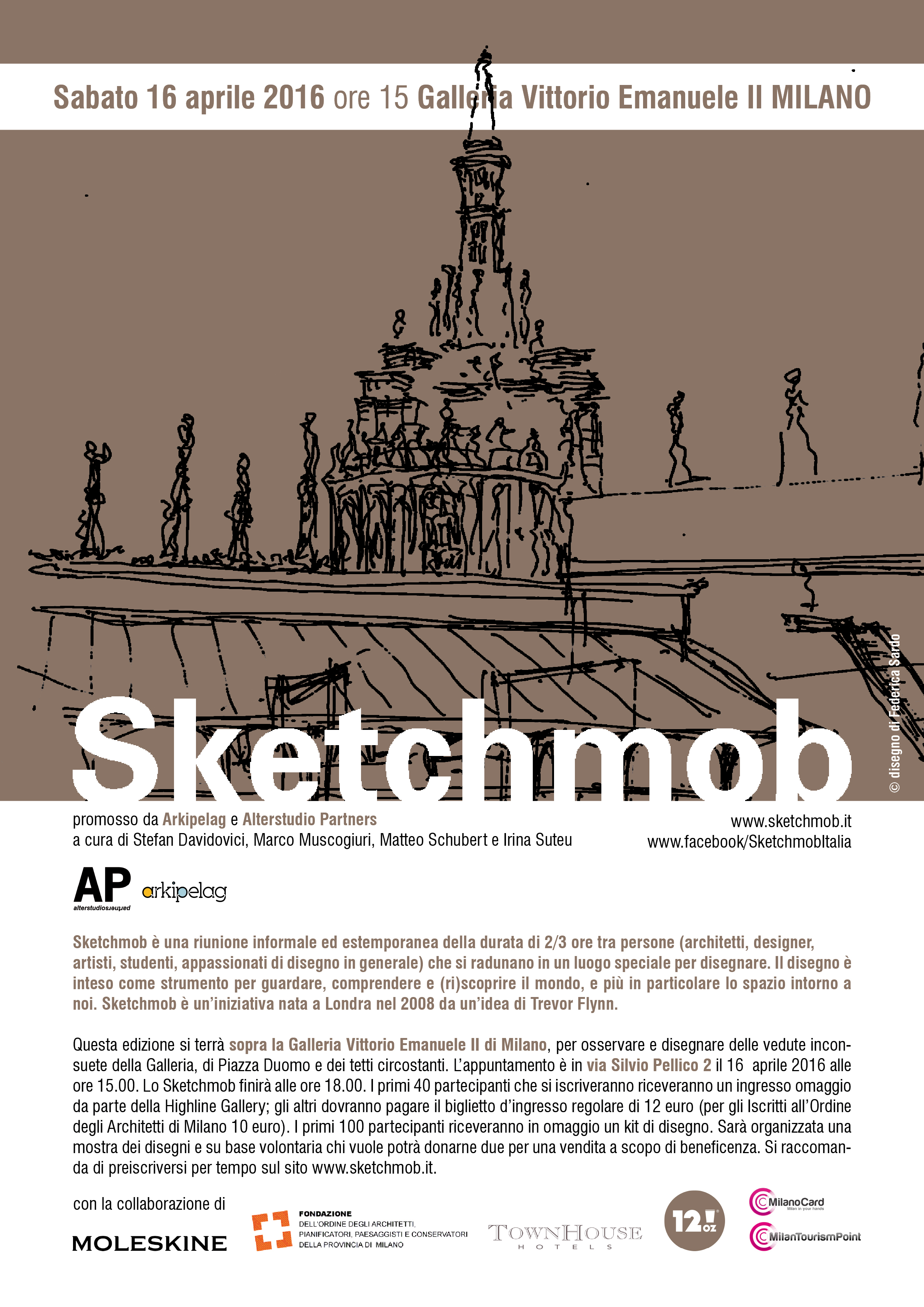 16.04.16 Sketchmob Galleria Vittorio Emanuele Milano (5)